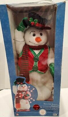 RARE- Snowflake Spinning Dancing Singing Frosty The Snowman - Snow Miser - 2004