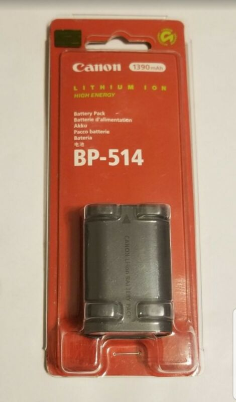 Canon BP-514 Battery Pack 1390 mAh New