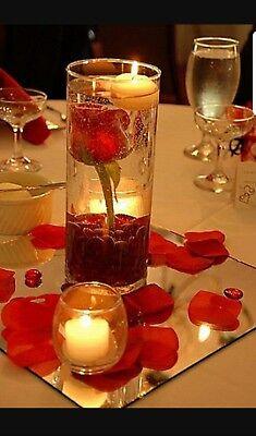 Vases Bulk (NEW 20 bulk Cylinder Vases Wedding Glass Table Centerpiece Candle)