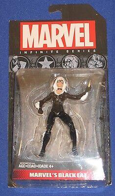 "Marvel Black Cat 4"" Action Figure 2014 Hasbro MOC Spider-Man Universe Avengers"