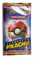 Pokemon Detective Pikachu , 1 Single Loose Booster Pack (4 Cards) New