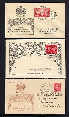 GB: 3 - MULREADY Reproduction Covers 1940's