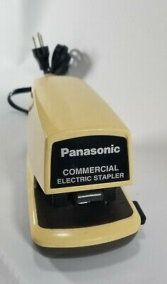 Panasonic Commercial Electric Stapler As-300n Tested