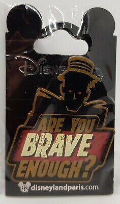 Disneyland Paris Disney Tower Of Terror Are You Brave Enough Halloween Pin Badge