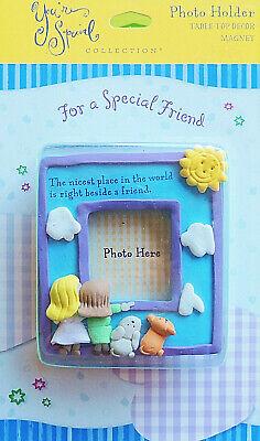friend mini photo holder frame table top