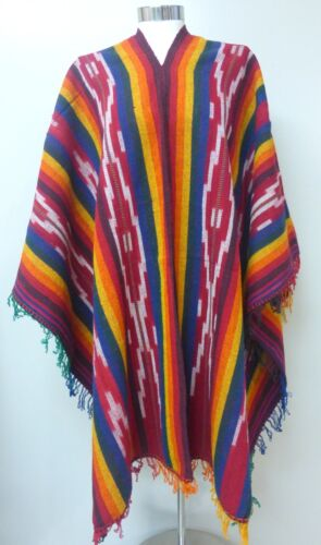 Peruvian Shaman Poncho Cape Andean Mountain Woven Textile