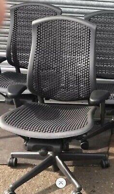 Herman Miller celle office home chair good condition Dark grey/black