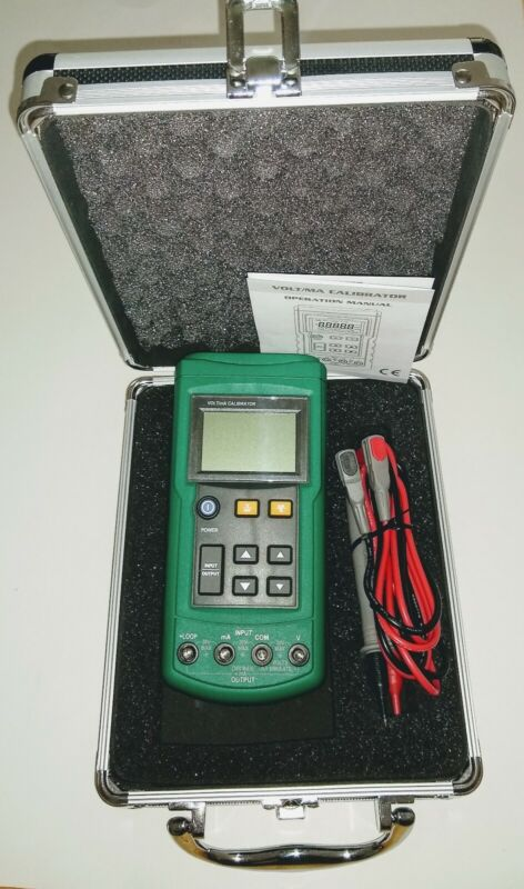 Mastech MS7221 Volt/mA Voltage Loop Calibrator with Case & Test Leads