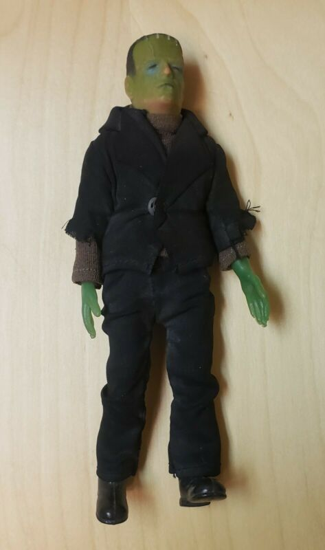 Vintage AHI Azrak Hamway FRANKENSTEIN World Famous SUPER MONSTERS Figure w/SHOES