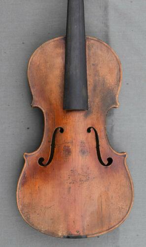 Rare Antique violin 18/19 TH labelled inside Stradivarius Master copy