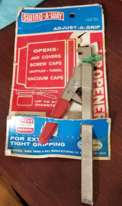 Vintage Swing Away Jar Opener Jar Jaws Adjustable Original package