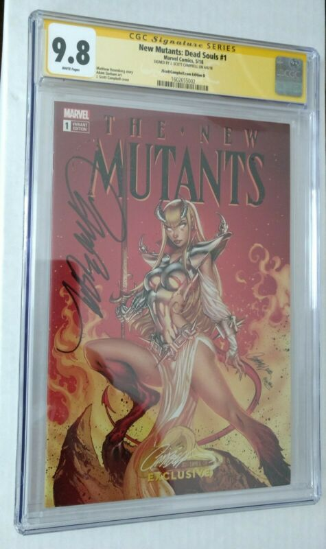 New Mutants: Dead Souls #1 (CGC 9.8) Campbell cover D