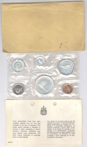 1967 CANADIAN ROYAL MINT Silver 1867-1967 CENTENNIAL 6 COIN SET