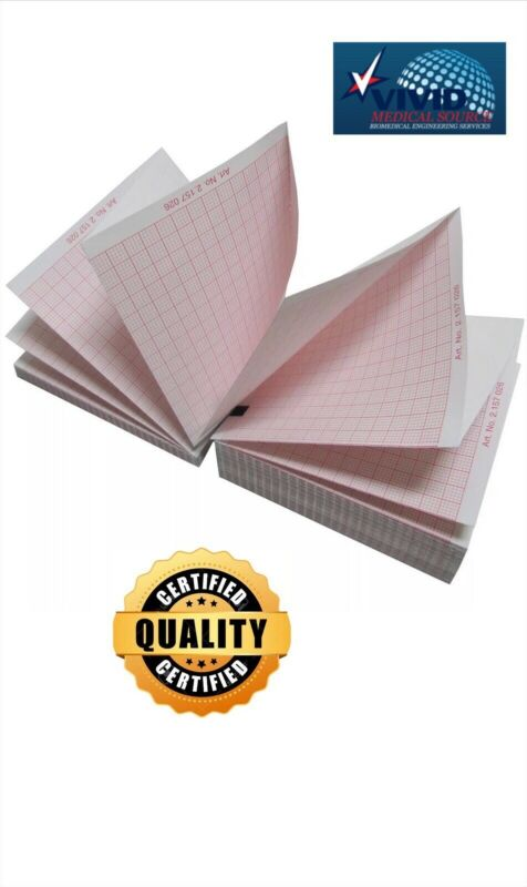 GE MAC 5000 ECG EKG Paper (1 pack - 150 sheets) (Also fits MAC 5500)