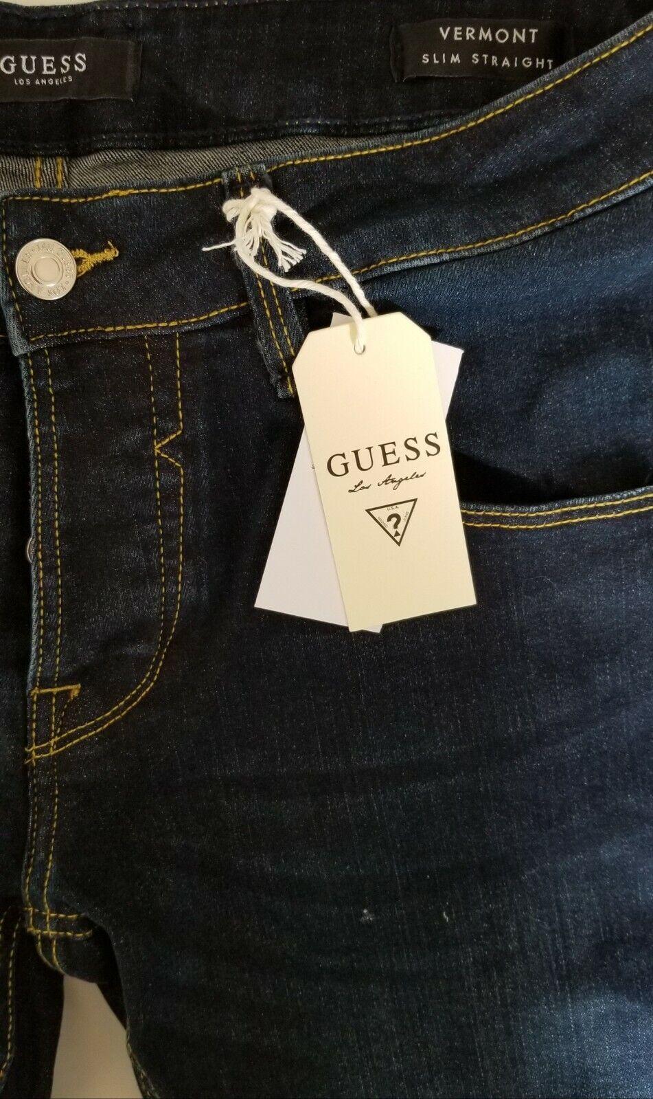 Herren Jeans GUESS Vermont - Dunkelblau - Aktionspreis!