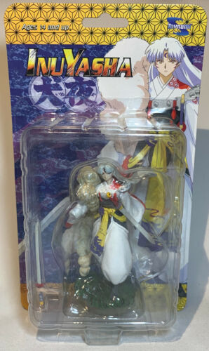 Unopened Toynami Inuyasha Anime Mini Figure - Sesshomaru