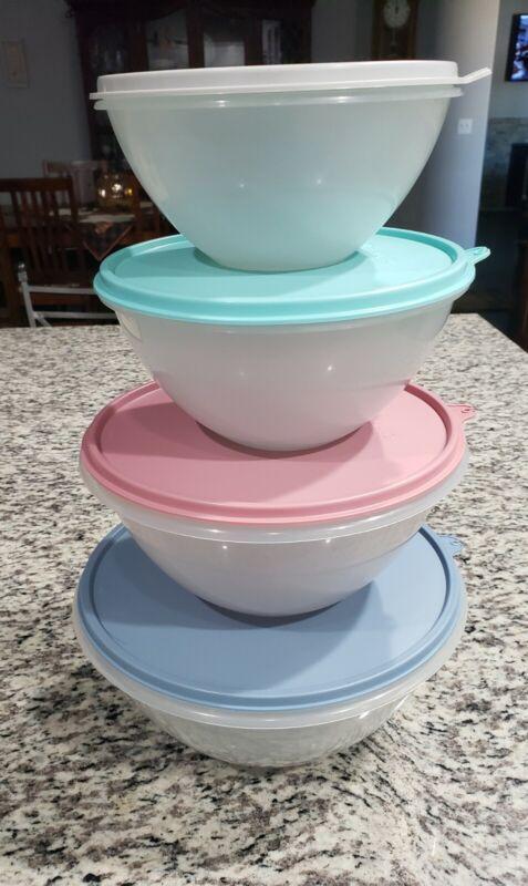 Tupperware Vintage Wonderlier Nesting Bowls