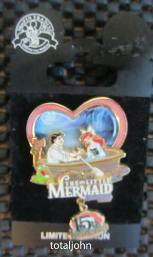 34326 DLR - The Little Mermaid 15th Anniversary Ariel and Prince Eric Pin