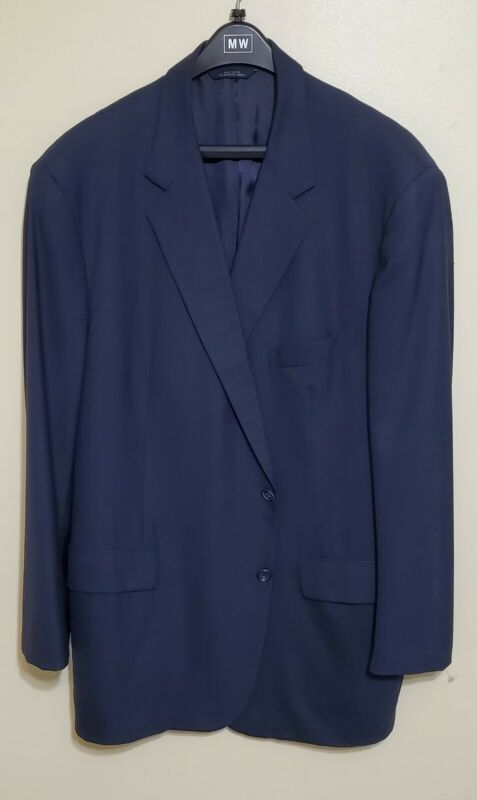 Brooks Brothers Golden Fleece Blue Suit 2Btn 48L 40W