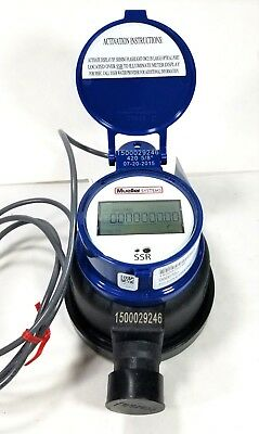 Mueller 58 X 34 420 Series Composite Water Meter Ssr Encoder Register Gallons