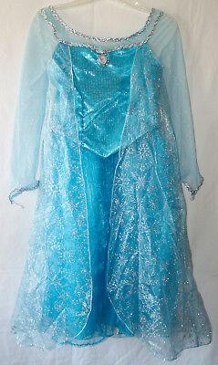S Queen Elsa Kleid GRÖSSE (7-8) Neu mit Etikett Original (Disney Queen Elsa Kleid)