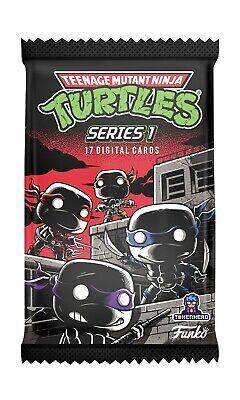 Funko NFT Premium Pack Teenage Mutant Ninja Turtles Series 1 (17 NFT) Unopened