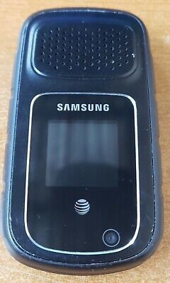 SAMSUNG RUGBY 4 SM-B780A FOR AT&T ONLY WIFI PTT RUGGED DURABLE FLIP PHONE