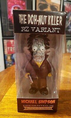 Simpsons Halloween Zombies (The Simpsons Homer Simpson Michael Myers Halloween Figure Mash Up Rob Zombie)