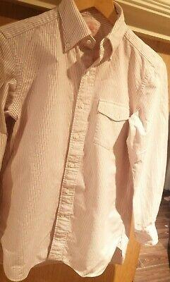 J press shirt Mauve Stripe XS