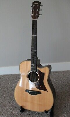 Yamaha A-3M Acoustic Electric Dreadnaught Guitar with A.R.E. and SRT2 Preamp