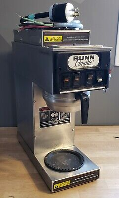 Bunn Coffee Brewer Maker Model Stf-15 Commercial