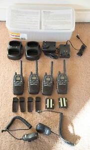 MIDLAND G7 XT-A UHF 3W HANDHELD RADIOS TWIN PACK x2 (4 radios) Bar Beach Newcastle Area Preview