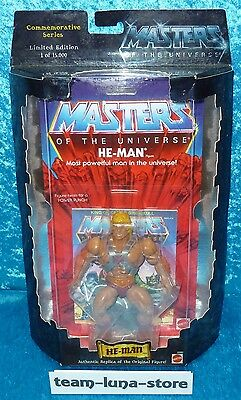 Masters of the Universe Motu Commemorative He Man / Mattel neu + ovp
