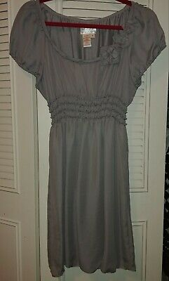 M.S.S.P Max Studio Specialty Products Dress Lined Grey Tunic Size M - Specialty Dresses