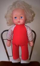 Vintage Walking Baby Loves You Doll Golden Grove Tea Tree Gully Area Preview