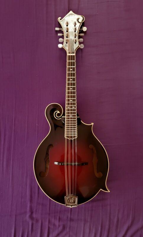 Weber Mandolin, yellowstone model, f style