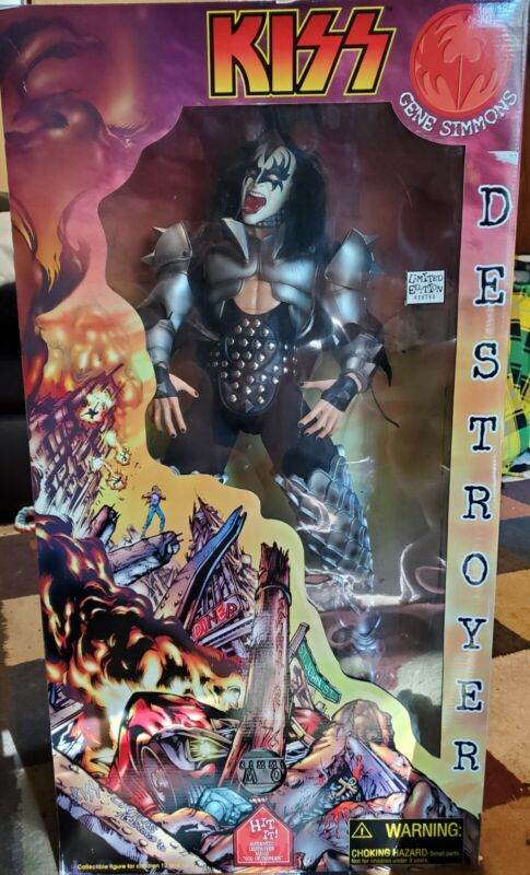 Gene Simmons KISS Destroyer - Limited edition collectible Doll 24""