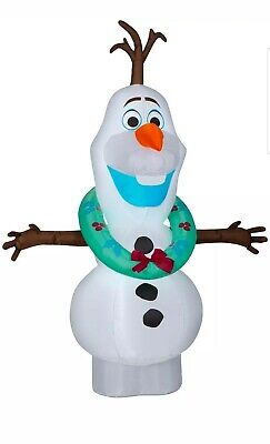 Gemmy Industries Yard Inflatables Disneys Frozen 2 Olaf Outdoor Christmas 5.5 ft