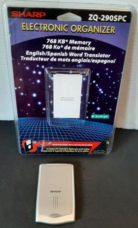 Sharp Electronic Organizer English/Spanish  Word Translator ZQ-290SPC