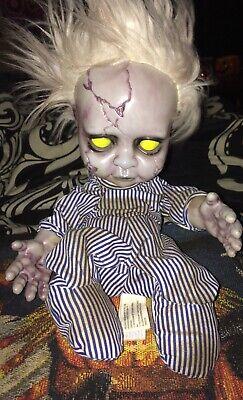 Halloween animated zombie baby Big lots 2018