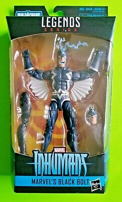 "Marvel Legends Inhumans 6"" Black Bolt Action Figure (Okoye BAF) - NEW/SEALED"