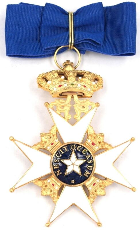 SWEDEN ROYAL ORDER OF THE POLAR STAR 2ND CLASS COMMANDER CROSS