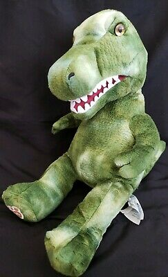 Build a Bear BABW Dinosaur T-Rex Puppet Large Soft Stuffed Animal Toy with sound for sale  Piedmont