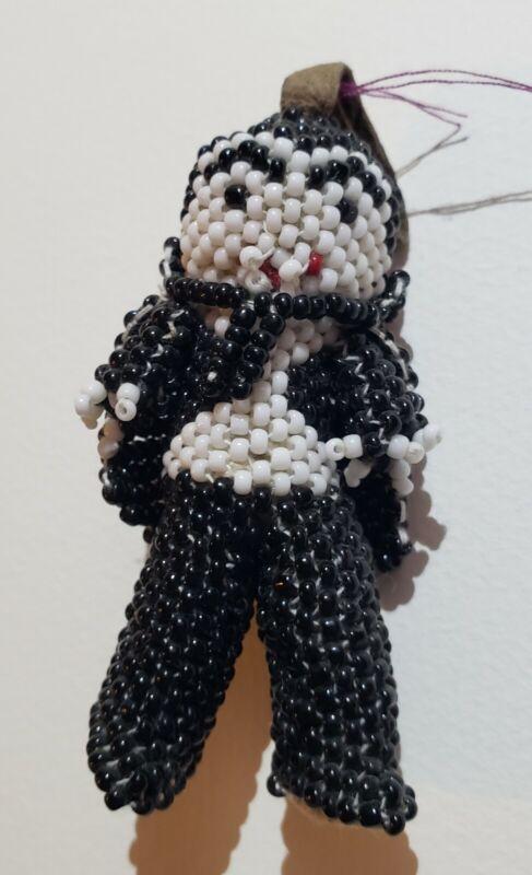 Zuni Beaded Figurine - Vampire