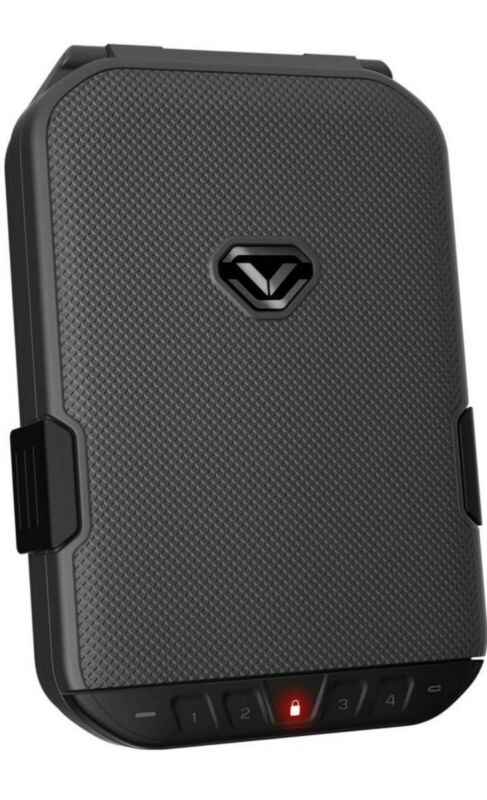 Genuine Vaultek LifePod Portable Safe (Black) BRAND NEW IN OPEN BOX