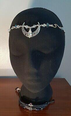 Crescent Moon Wicca Witch Pagan Ritual Sabbat Headdress