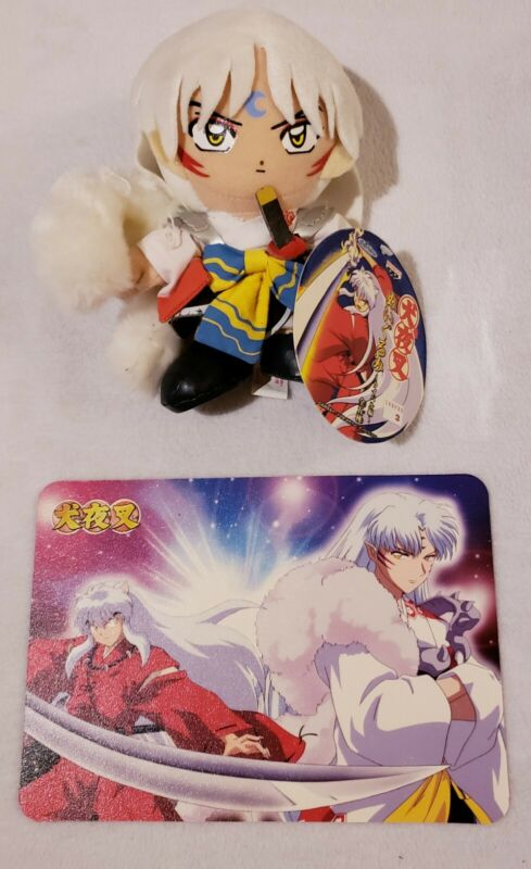 Rare Beautiful Sesshomaru Plush Set With Tag!! (A Must See!!)