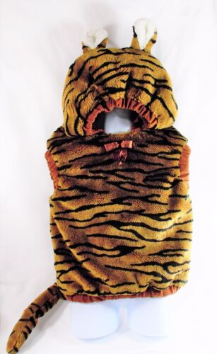 Tiger Plush Hooded Vest Costume 12-24 months Infant/Toddler