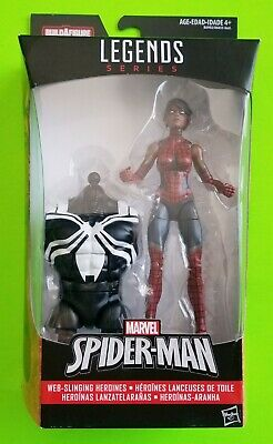 "Marvel Legends Web-Slinging Heroines 6"" Spider-Girl (Venom BAF) - NEW/SEALED"