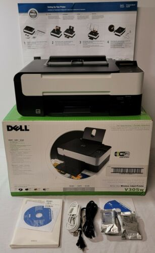 Dell V305w All-in-One Wireless Inkjet Computer Printer New O